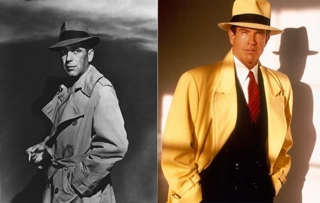 Humphrey Bogart In A Trenchcoat