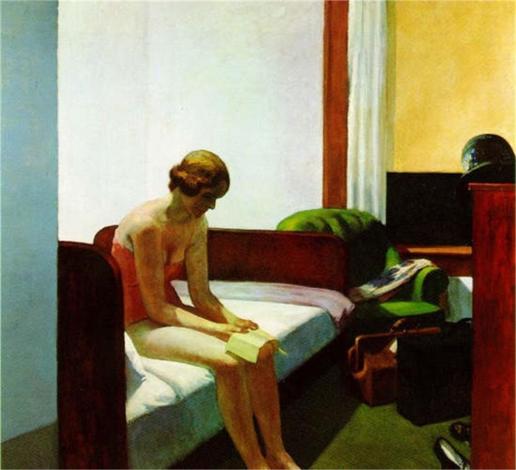 O Quarto de Hotel, de Edward Hopper.