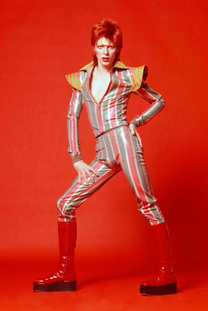 David Bowie em 1972.