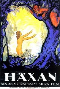 Häxan Swedish poster 1922 Benjamin Christensen