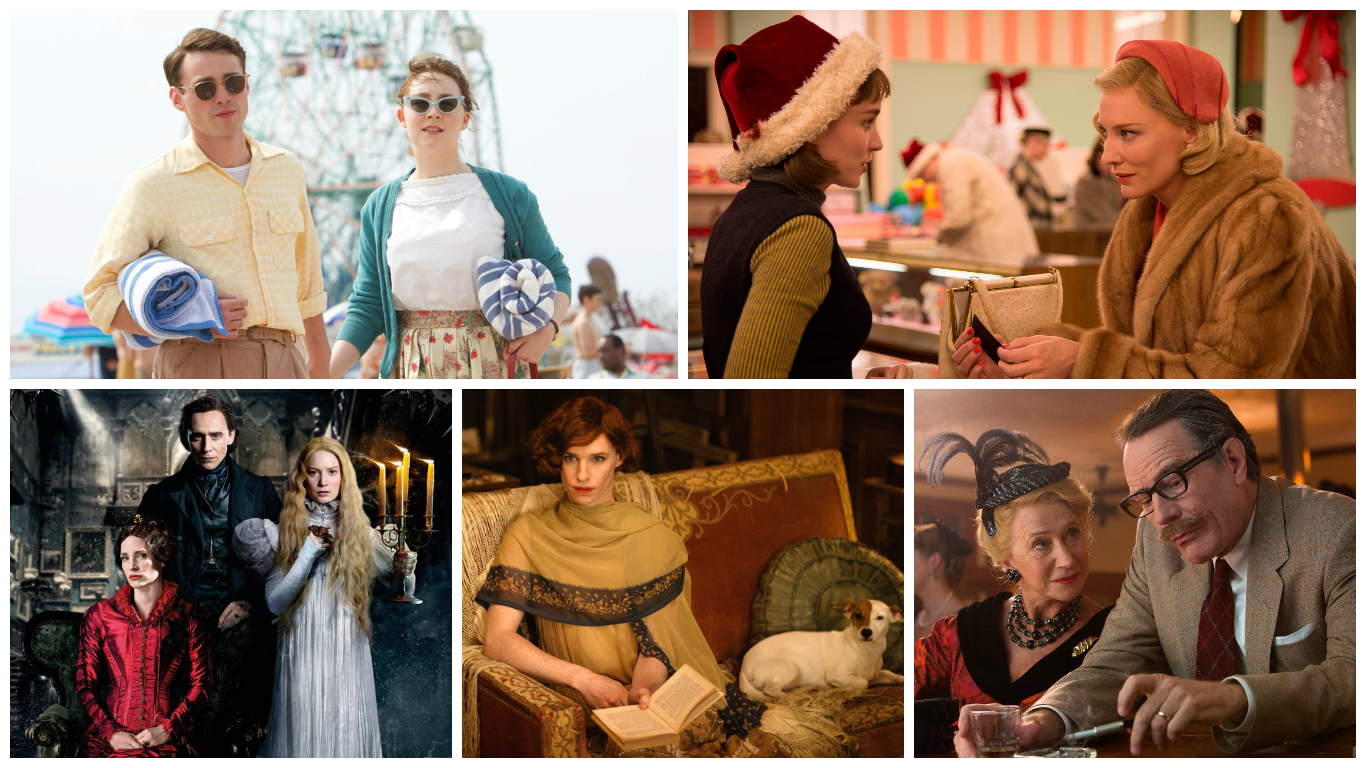 Costume Designers Guild Awards 2016 Period Nominees