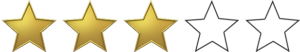 Nota: 3 de 5 estrelas