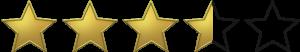 Nota: 3,5 de 5 estrelas