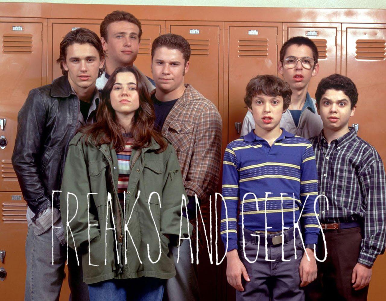 Freaks and Geeks, criada por Paul Feig, produzida por Judd Apatow, lançou a carreira de vários de seus protagonistas.