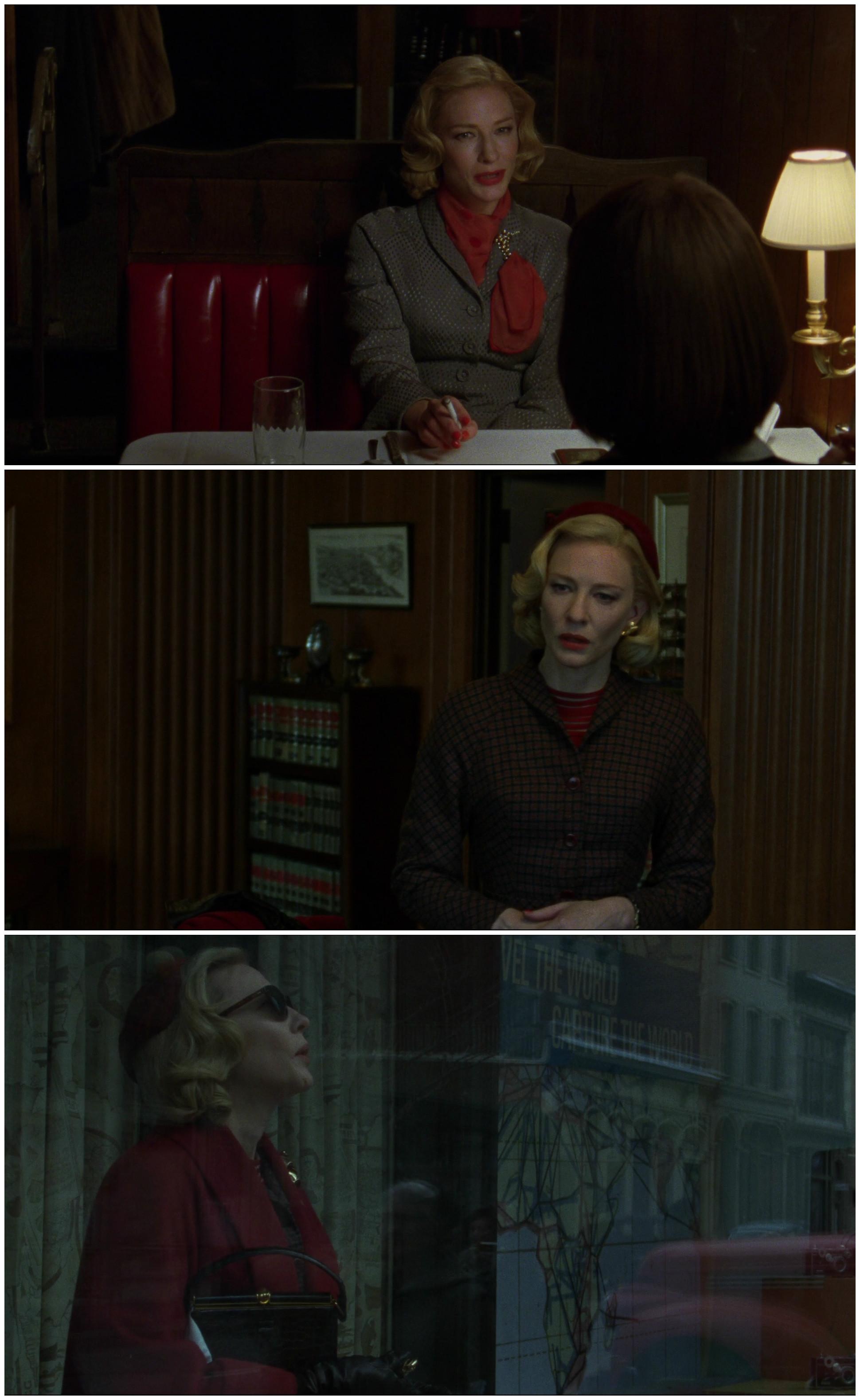 Carol Todd Haynes Cate Blanchet Rooney Mara red