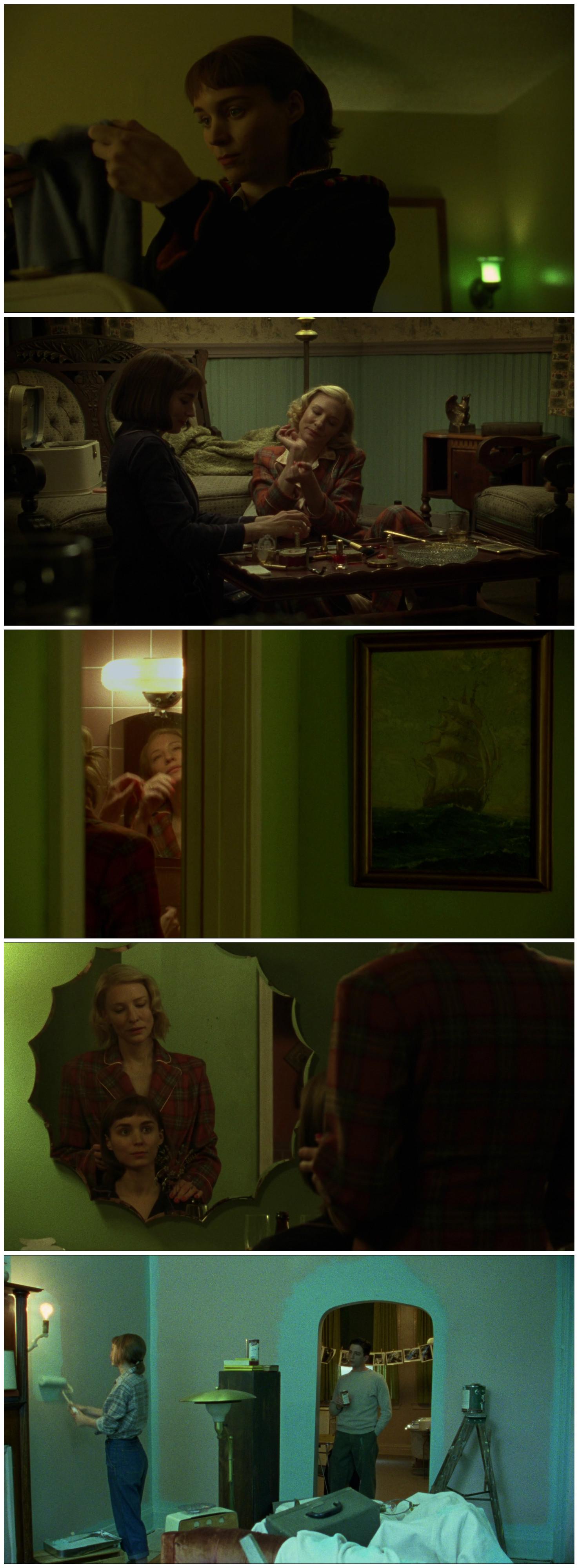 Carol Todd Haynes Cate Blanchet Rooney Mara green