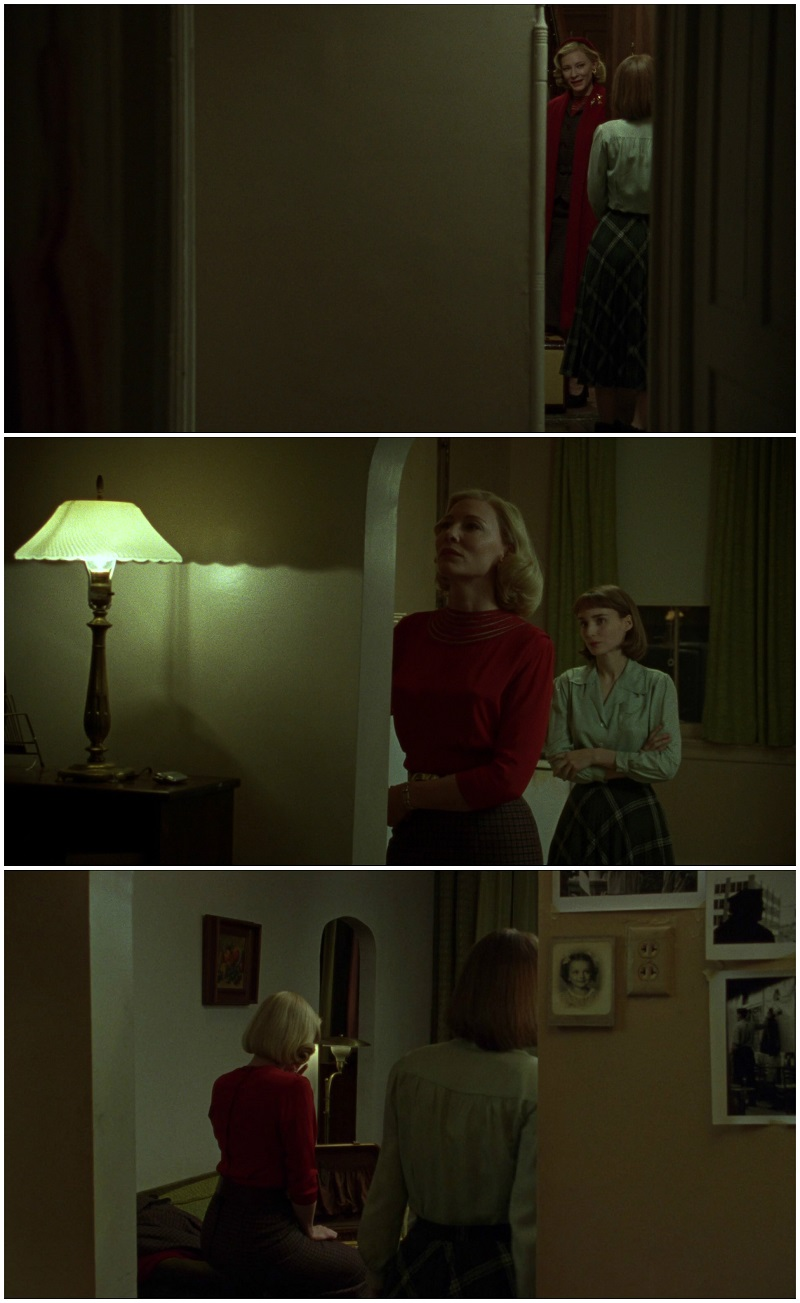 Carol Todd Haynes Cate Blanchet Rooney Mara apartment