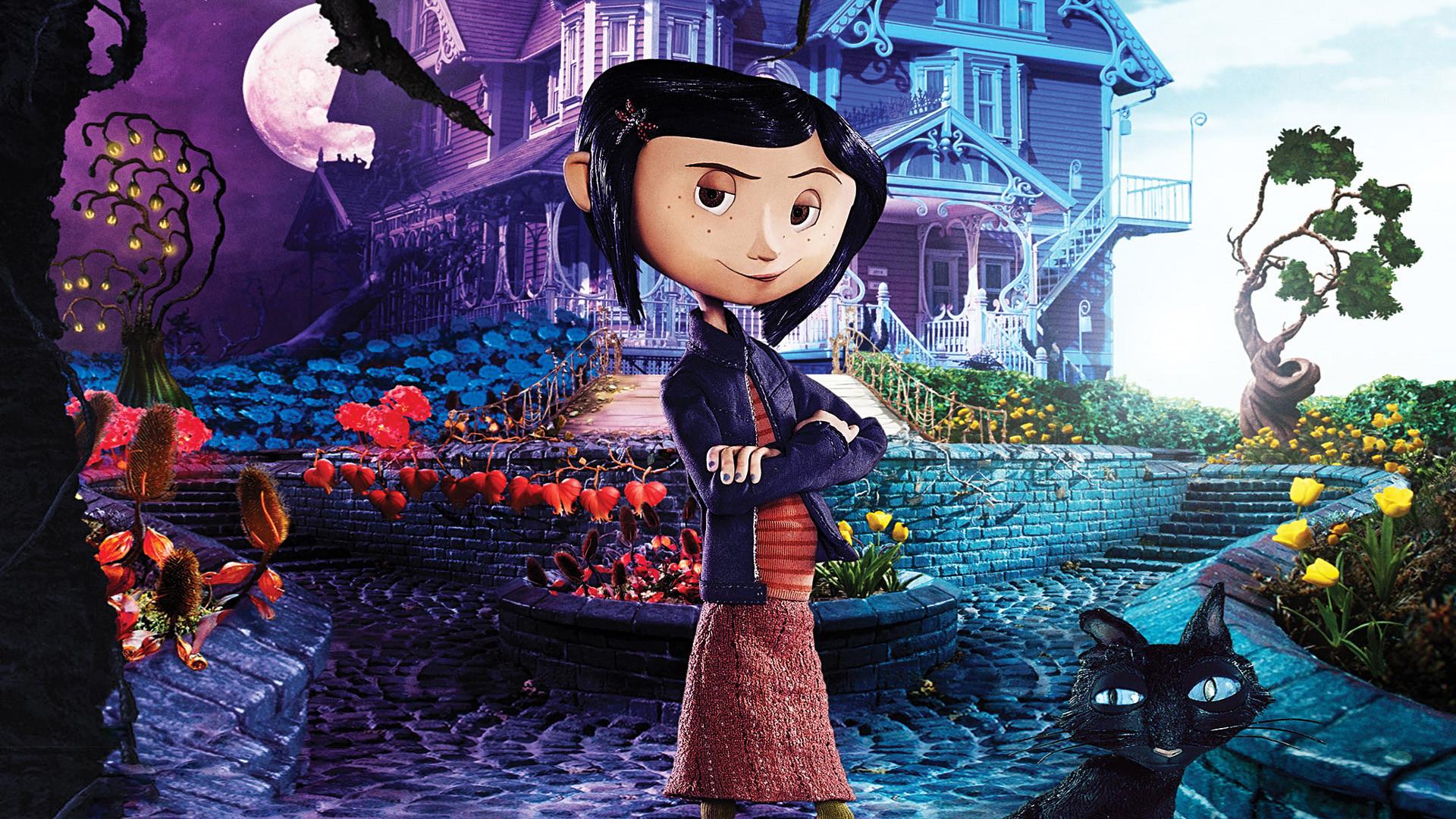 Coraline: ótima animação em stop motion adaptada de uma obra de Neil Gaiman.