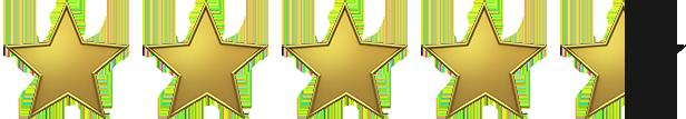 4,5 de 5 estrelas