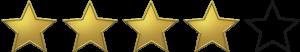 Nota: 4 de 5 estrelas