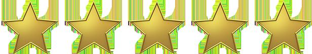 Nota 5 de 5 estrelas