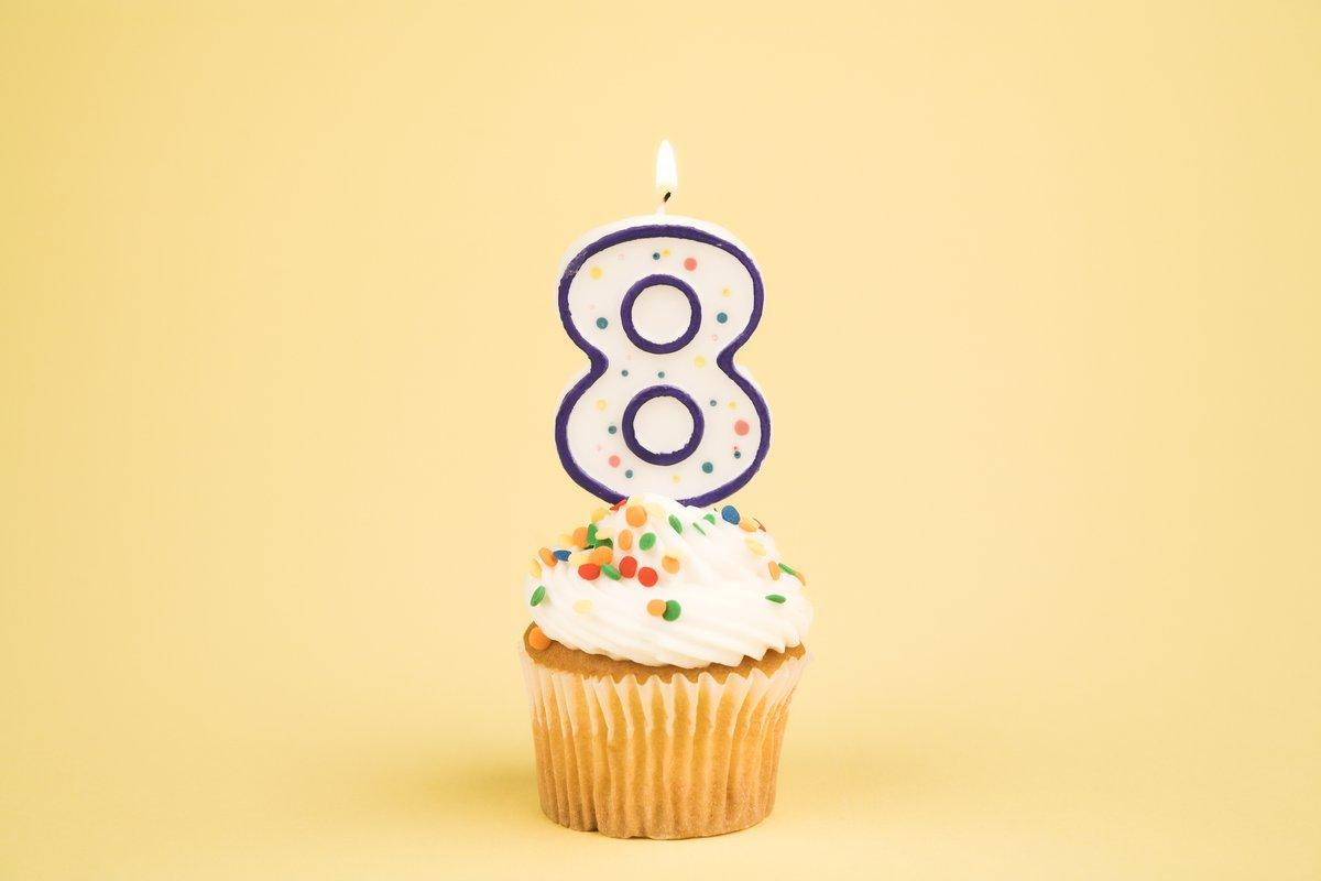 Resultado de imagem para cupcake 8 anos