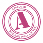 "Selo ""approved Bachdel Wallace Test"""